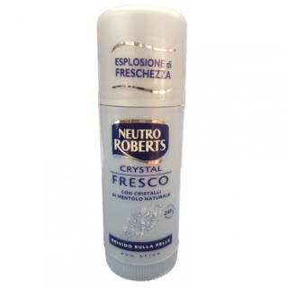 DEO STICK - NEUTRO ROBERTS Crystal Fresco, 40ml