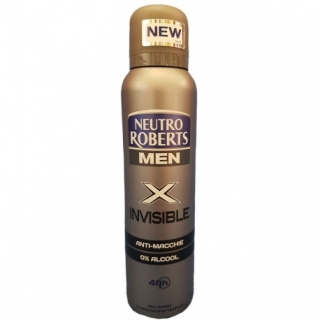 DEO SPRAY - NEUTRO ROBERTS Mex X Invisible, 150ml
