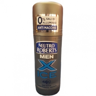 DEO STICK - NEUTRO ROBERTS Men X ICE, 40ml